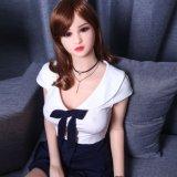 165cm小さい胸の日本のシリコーンの大人の性の人形、ケイ素の若い性の人形