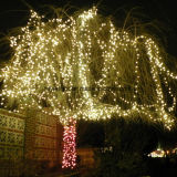 RoHS及びセリウムLEDのゴム製演劇ライトストリングIP44クリスマスLEDストリングライト