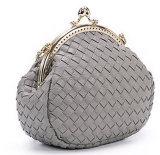 編まれたPU装飾的な袋(KCCA030)