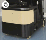 عادية [كست برفورمنس] [أك موتور] [1ت] ثلاثة عجلات رافعة شوكيّة كهربائيّة