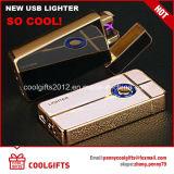 Nouvelle conception d'empreinte digitale Induction double arc USB rechargeable électrique