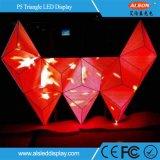 Visualización de LED del triángulo P5 para el club de DJ