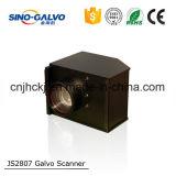 Портативная маркировка лазера Js2807 подвергает часть механической обработке с хорошим ценой