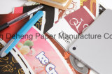 Ventilateur enduit de cuvette de papier de PE bilatéral avec l'impression