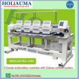 Máquina computarizada multi cabeça do bordado das cores de Holiauma 15 para a máquina do bordado do tampão da produção em massa