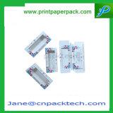 習慣によって印刷される宝石類のギフト用の箱PVCウィンドウ・ボックスの香水の装飾的なまつげ包装ボックス構成のスキンケアのパッキングボール紙の紙箱