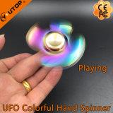 Fileur coloré de doigt de fileur de main d'arc-en-ciel en métal