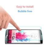 Protetor de vidro da tela do telefone livre da bolha para LG G3