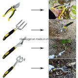 Комплекты инструмента сада 9 частей вклюают веревочку завода и пару перчаток работы, 6 тяжелые головок литого алюминия с эргономическими ручками и Tote Esg10154 сада