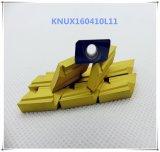 Cutoutil Knux160410L11 pour l'acier &#160 ; Garnitures intérieures de carbure pour des outils de Ckjnr