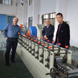 PLC Panasonic galvanisierte die Weinberg-Metallgitter-Pfosten-Rolle, die Maschine bildet