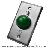 Acier inoxydable aucun bouton de porte de COM d'OR (SB4M)