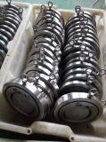 H74 Válvula de retenção de bolacha de aço inoxidável de disco único (SS304 / SS316)