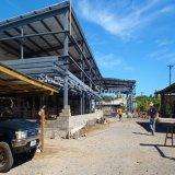 가벼운 금속 강철 구조물 Prefabricated 건물 플라스틱 모듈 건물