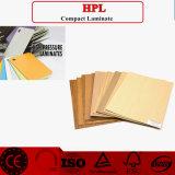 Panneaux de mur de stratifié en bois de HPL