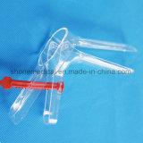 Speculum vaginale di plastica di Gynecology a gettare dell'esame