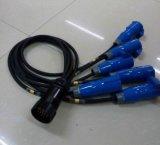 Socapex Energien-Draht-Lautsprecher-Kabel mit Powercon