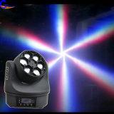 ディスコの照明蜂の目6*10W LEDの移動ヘッドビームライト