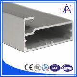 La vente chaude anodisent le profil 6061-T5 en aluminium pour le cabinet