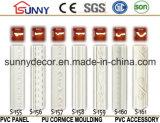 Moulage facile d'unité centrale de moulages de corniche de polyuréthane d'installation/moulages ordinaires