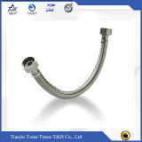 Manguito acanalado trenzado de acero del metal flexible del fabricante
