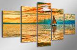 HD напечатало холстину Mc-028 изображения плаката печати декора комнаты печати холстины картины Nebo Oblaka Luchi Ozero