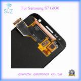 Экран касания LCD для телефона галактики для Samsuny S7 G9300 показывает агрегат