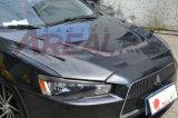 pour le capot ex de capot de fibre de carbone de Mitsubishi Lancer Evo