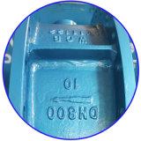 수동 핸들 Wcb는 오프셋 나비 벨브 단단한 밀봉 세겹 플랜지를 붙였다