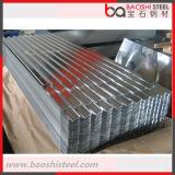 Construcción de chapa de acero galvanizado corrugado