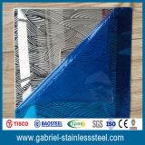 Лист металла нержавеющей стали вытравливания AISI 304 Tisco Titanium Coated для панели стены