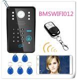 Система безопасности дома внутренной связи дверного звонока телефона двери пароля WiFi RFID видео-