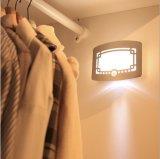 Indicatore luminoso tradizionale con movimento doppio del sensore, indicatore luminoso di disegno LED di stile cinese della parete