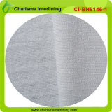 Bi-Stretch Woven Weft-Knitted Fusible Interlining for Uniform