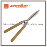 Ножницы инструмента сада подрежа выковали ножницы изгороди с деревянными ручками