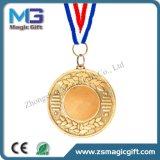 Kundenspezifische unbelegte Goldmedaille