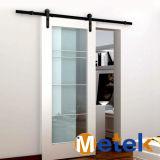Раздвижная дверь просто модной конструкции деревянная для дома семьи