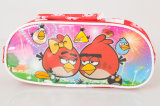 Trousse d'écolier portative de sac de papeterie de beaux de dessin animé enfants de configuration