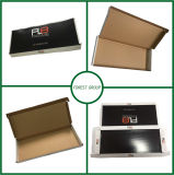 Empaquetage lustré noir de cadre de carton de laminage