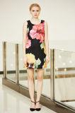 Ultimo nuovo vestito da stampa di disposizione di Digitahi di modo nel grande reticolo di fiore