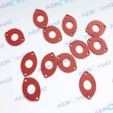 De niet genormaliseerde RubberdieO-ringen van het Silicone van de Pakking van het Silicone Rubber in Aeromat worden gemaakt