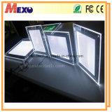 Het slanke LEIDENE Lightbox Magnetische Lightbox Kristal Lightbox van Lightbox