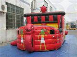 Corrediça inflável do navio de pirata da classe comercial, arrendamento Bouncy da corrediça