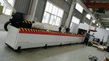 auto máquina de estaca do laser da fibra da tubulação da câmara de ar de alimentação 700/1000W