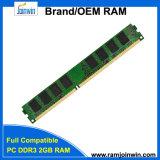 중국 도매 128mbx8 16c 컴퓨터 DDR3 2GB 렘