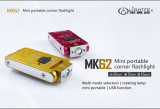 Mk62 het Kamperen van het Flitslicht van de Hoek de Mini Directe Openlucht Draagbare Navulbare Roterende Lichten van 180 Graden