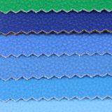 Cuero sintetizado del PVC de la PU del lichí de moda 2017 para el bolso (A1086)