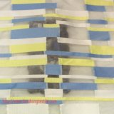 ポリエステルファブリックジャカードワイシャツの正式の衣服のホーム織物のためのファブリックによって染められるヤーンファブリック化学ファブリック幾何学的なジャカード