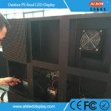 옥외 P8 조정 발광 다이오드 표시 모듈 정면 서비스
