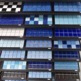 Couleur en céramique de bleu de tuile de mosaïque
